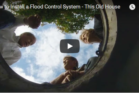 Video on how to install flood control systems