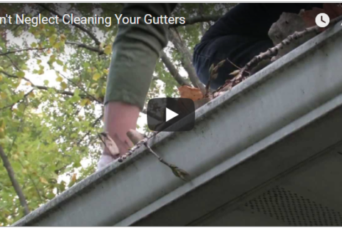 maintaining gutters to prevent water damage