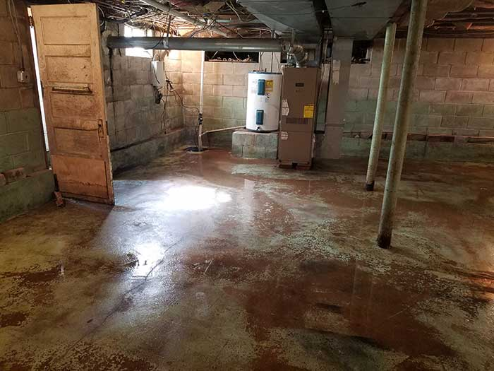 Causes Of Water In Basement