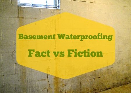 Budget Basement Waterproofing - Fact or Fiction