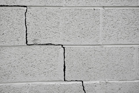 crack in home foundation