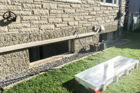 summer basement maintenance