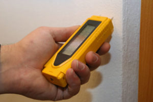 checking for mold and moisture inside walls