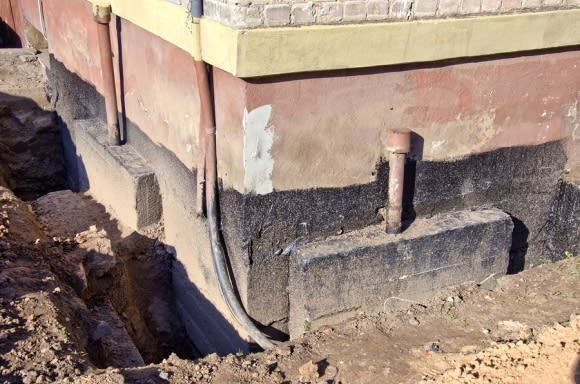 Exposed Foundation